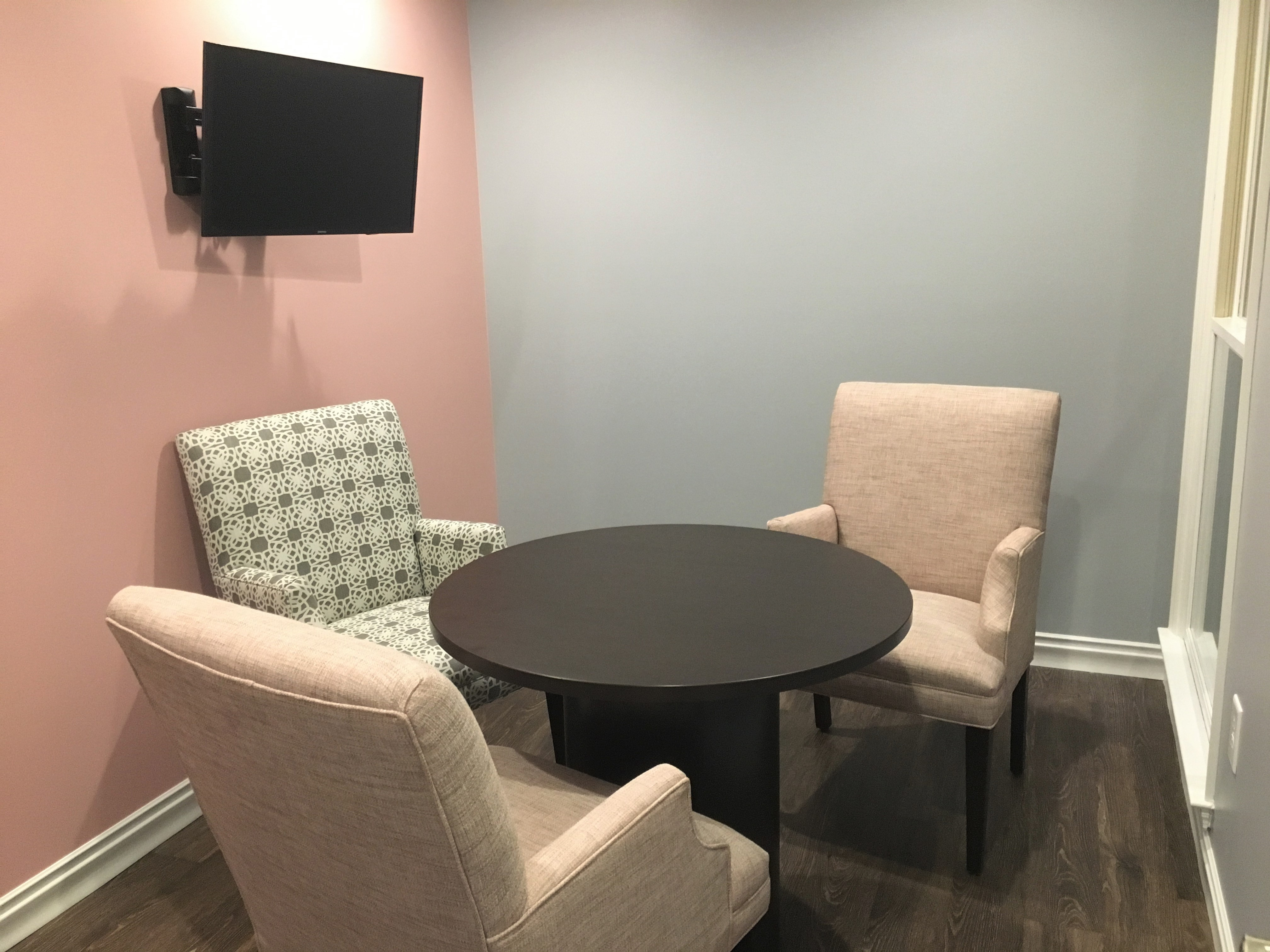 mammogram consult room